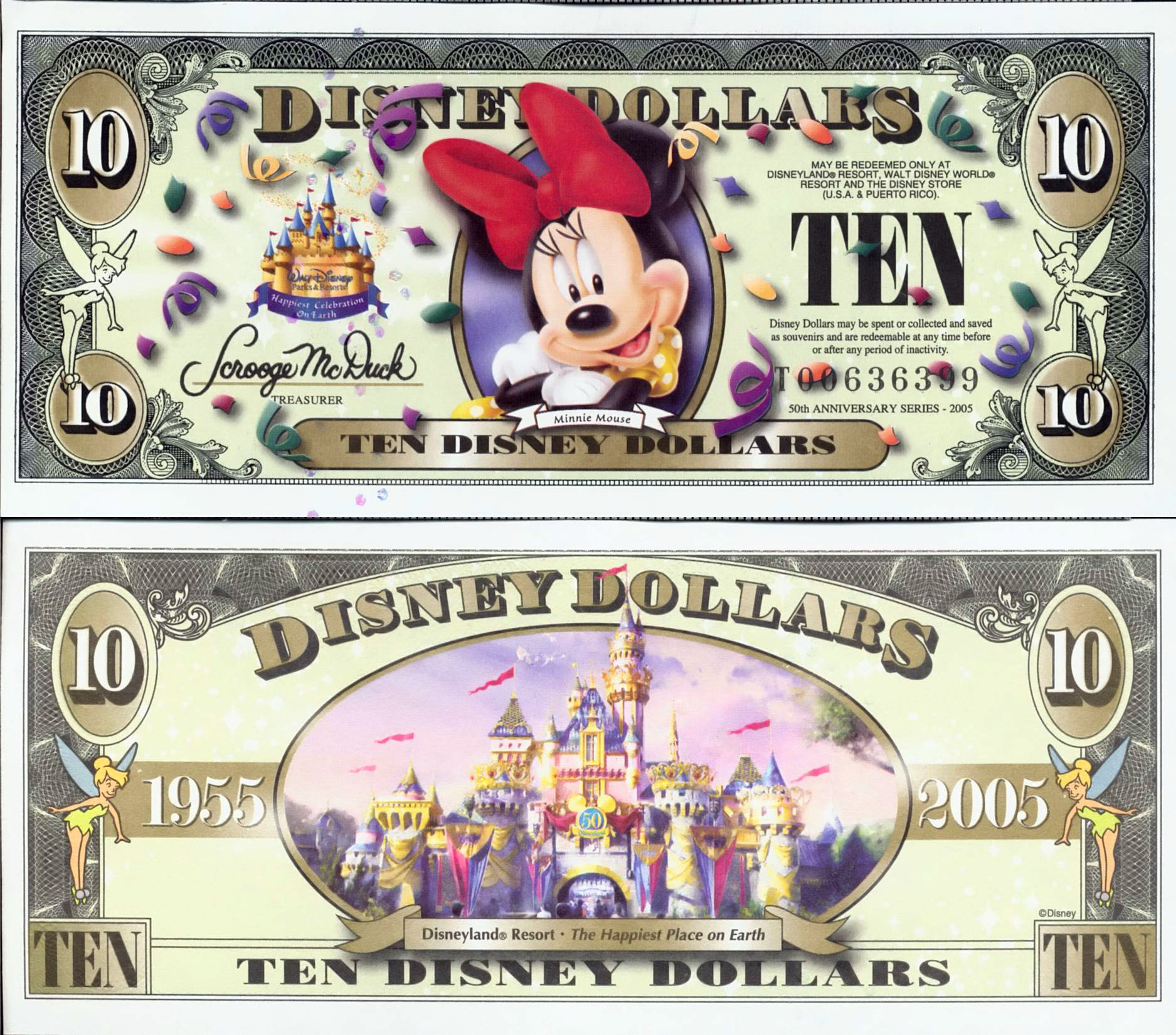 photograph about Disney Dollars Printable named - Disney Money