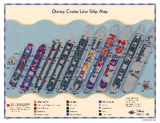 Disney Cruise Line - Deck Plans
