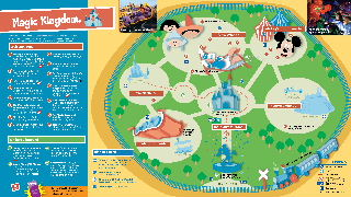 graphic relating to Magic Kingdom Printable Map known as - Concept Park Maps